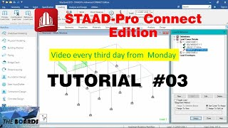 STAAD.Pro Connect Edition Tutorial (03)