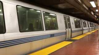 BART 24th Street Mission Station San Francisco California Bay Area Rapid Transit