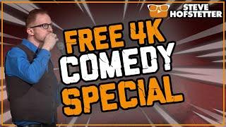 Secret Optimist (4K) - Steve Hofstetter (Full free comedy special)