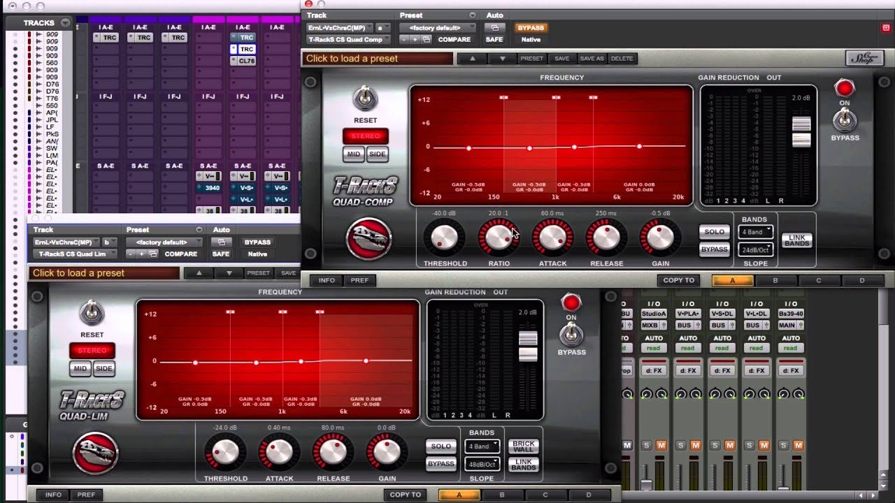how to use compression for vocals