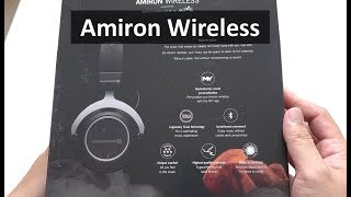 beyerdynamic Amiron Wireless - High-end Bluetooth Headphones Unboxing