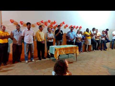 Apresentação dos candidatos /40/ na com. Divino Pai Eterno, Rio Bananal - ES!