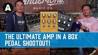 Which Amp is the REAL Guitar Amp? - The Ultimate Amp in a Box Pedal Shootout