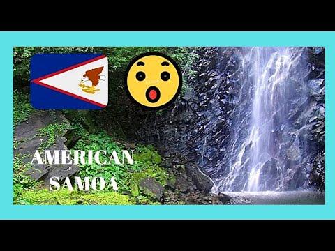 AMERICAN SAMOA, the spectacular Nu'uuli Falls (PACIFIC OCEAN)