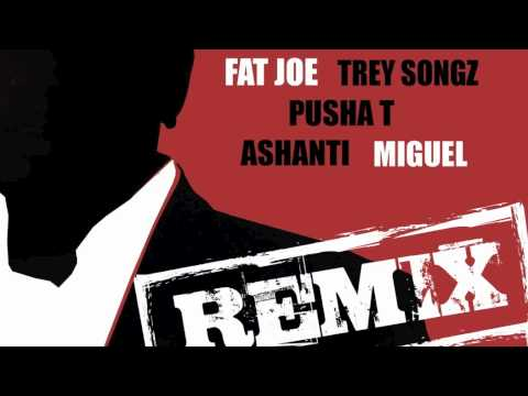 Fat Joe - Pride N Joy Remix (Ft. Trey Songz, Pusha T, Miguel & Ashanti) (Official HD)