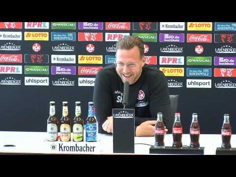 Livestream: Pressekonferenz vor dem Heimspiel gegen den SV Meppen