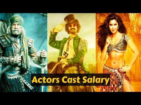 Thugs Of Hindostan # Actors# Cast Salary 2018 |