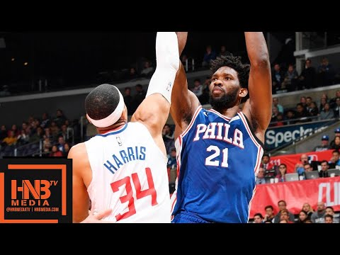 Philadelphia Sixers vs LA Clippers Full Game Highlights | 01/01/2019 NBA Season