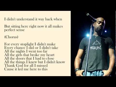 Darius Rucker - This with Lyrics