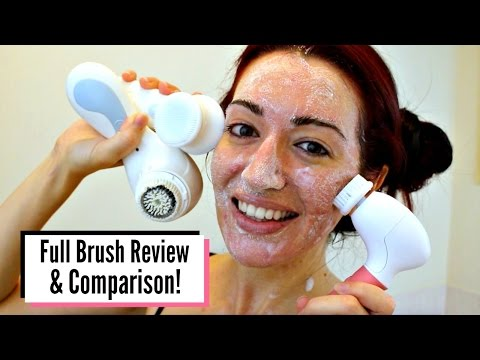 CLARISONIC vs SPIN BRUSH vs ULTIMATE SKIN SPA! Full Comparis
