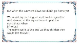 Firehouse - The Nights Were Young Lyrics YouTube Videos