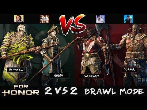 For Honor (Hindi) 2v2 Brawl - Best Indian Gamers Jodi? - Ft. GGM, Quasar, Saxisam