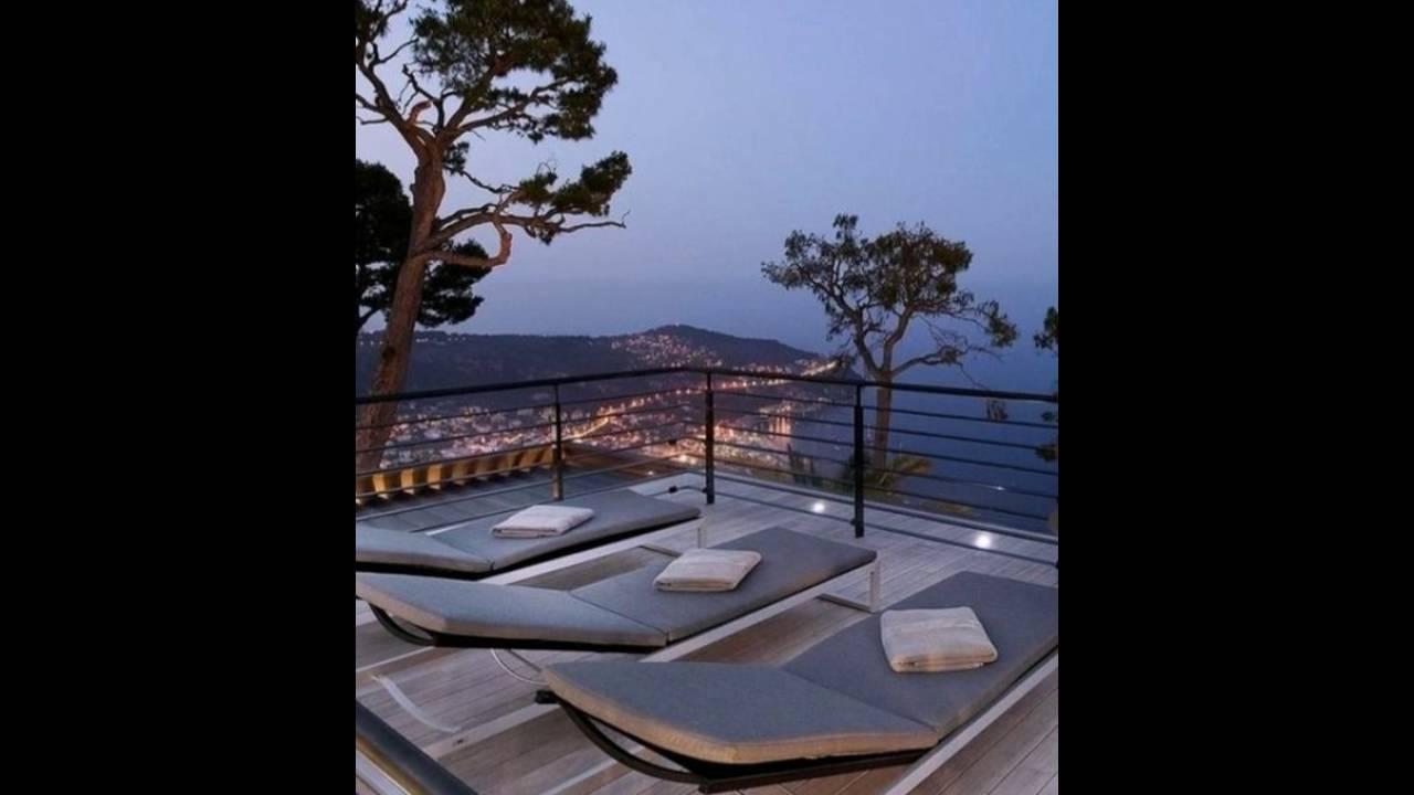 super moderne dachterrassengestaltung mit loungem beln