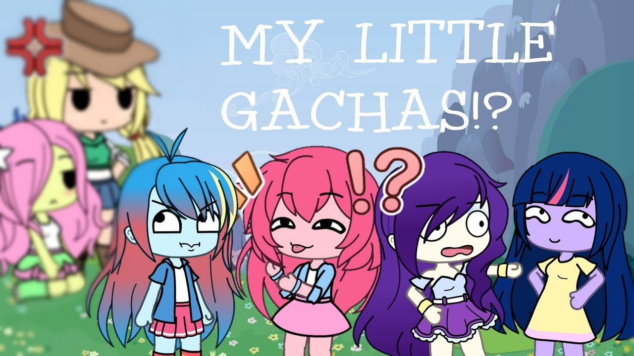 Making My Little Pony Characters On Gacha Life Gacha -9598