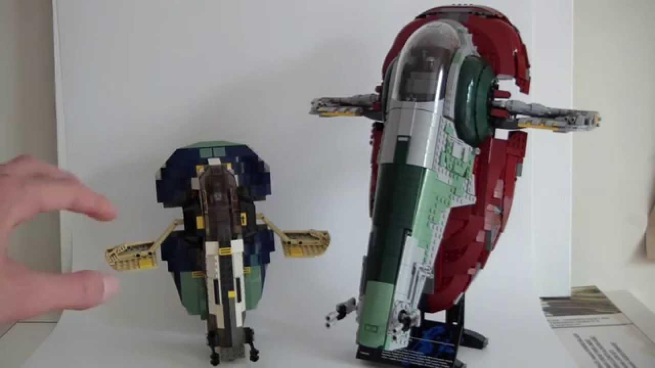 LEGO Star Wars Slave 1 Comparison (75060,7153)