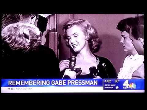 Gabe Pressman Tribute - Sue Simmons #WNBC