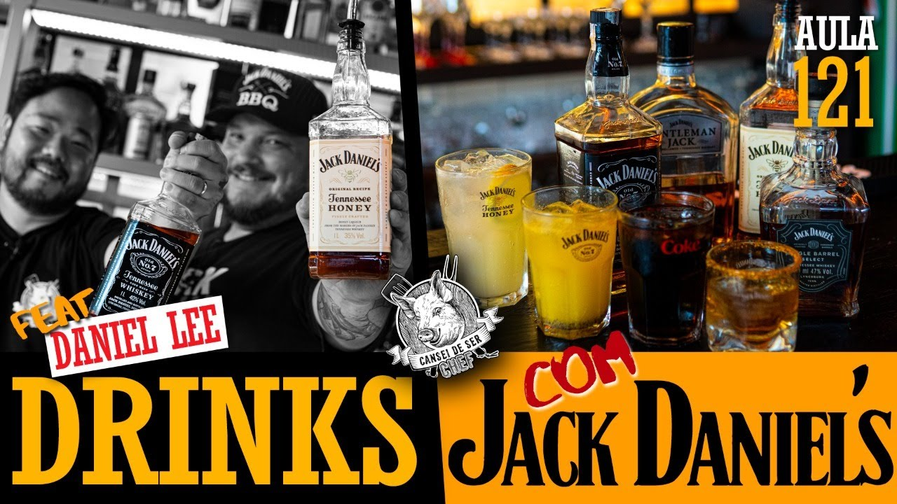 Drinks com Jack Daniel's feat. Daniel Lee - Cansei de ser chef