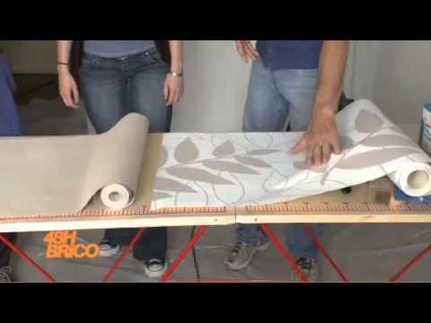 48hbrico avec weldom disposer du papier peint youtube for Coller du papier peint intisse