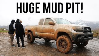 Car Guys Go Wheeling In The Mud!