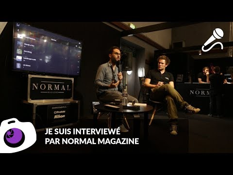 Mon travail de photo de nu, interview par Normal Magazine - F/1.4 S06E20