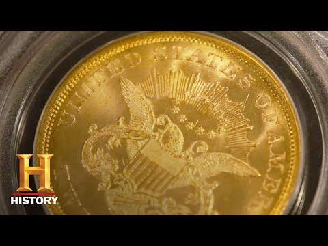 Pawn Stars: 1838 Gobrecht Silver Dollar & 1857 Liberty Head Double Eagle (Season 14) | History