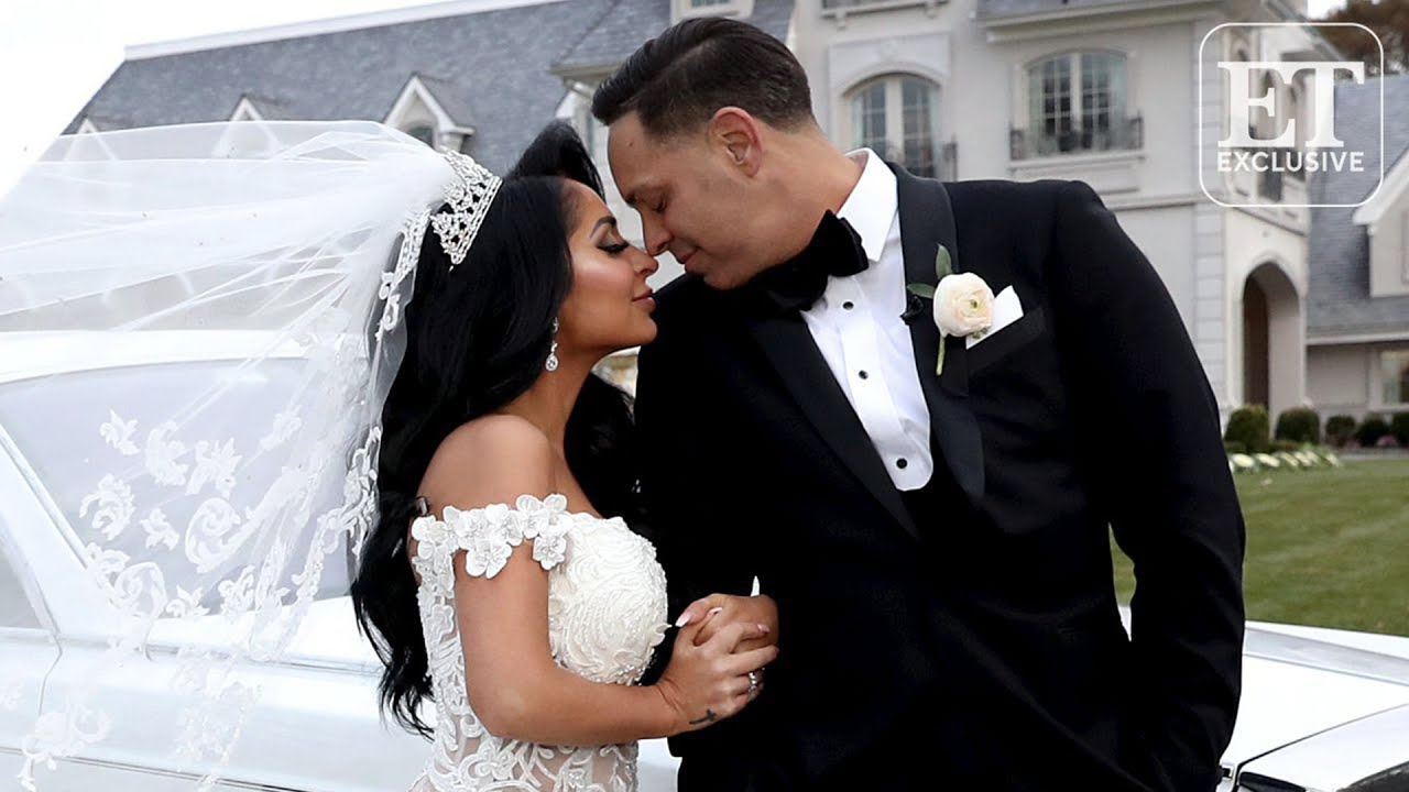 Angelina Jersey Shore Sexy jersey shore star angelina pivarnick marries chris larangeira (exclusive)
