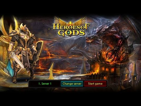 Heroes of Gods Gameplay IOS / Android
