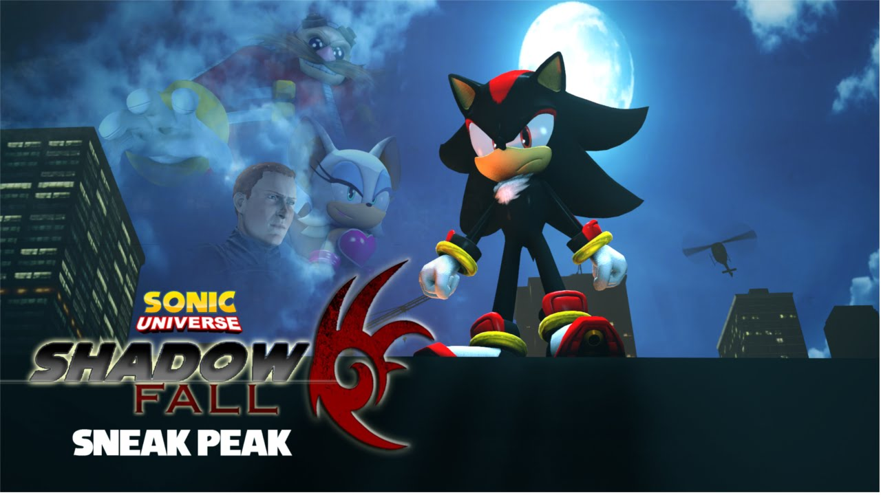 Sonic Universe Shadow Fall Sneak Peak Canceled Sfm Mini Series Youtube