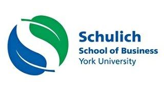 Schulich School Of Business Application Workshop