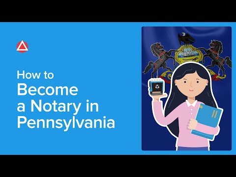 How To Become A Notary In Pennsylvania | NNA