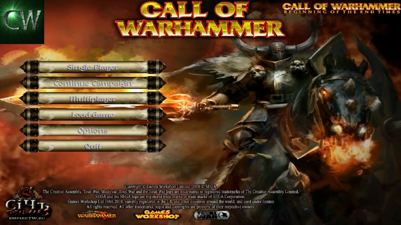 HOW TO INSTALL CALL OF WARHAMMER: BOTET 1 5 (MOD FOR MEDIEVAL II)