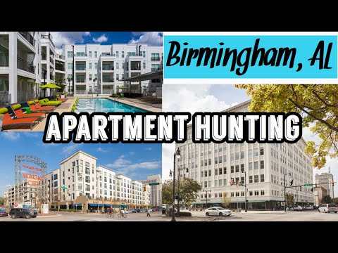 DAY IN MY LIFE: APARTMENT HUNTING in Birmingham, Alabama