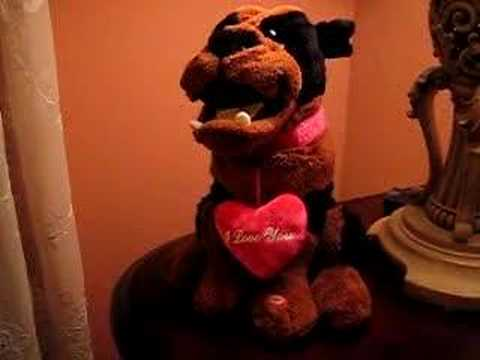Dumb Animated Singing Valentine Dog