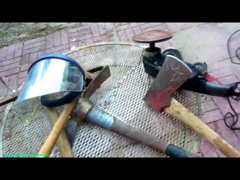 Want To Know Some Easy Ways To Sharpen a Splitting Maul? It is Really Not That Hard!