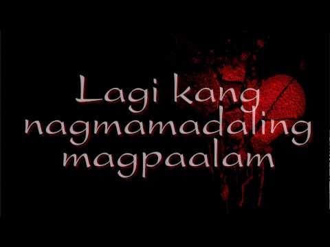 Wag Mo Akong Iwan Mag-isa - Angeline Quinto (Lyrics)