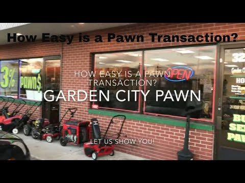 How To Get A Loan From A Pawn Shop