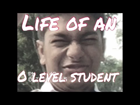 The Life Of An O-Level Student | A MrChaortic Vlog