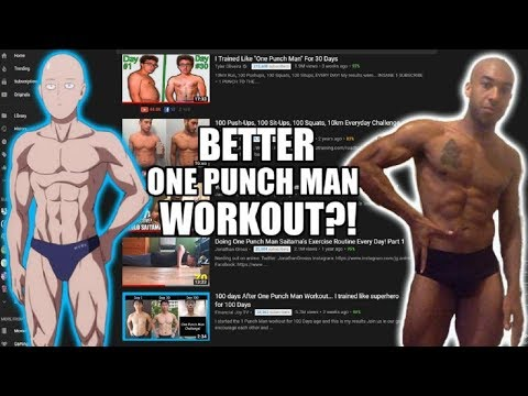 How To Improve Saitama's One Punch Man Workout Challenge
