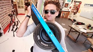 Go-Kart Wheel HOVERBOARD