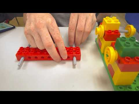Lego Early Simple Machines Car Launcher