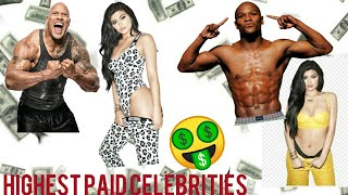 Highest paid Celebrities of the world in 2018