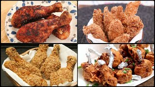 MUST TRY Party Starters | Chicken Starter Recipes | KFC Style Chicken | Tandoori Chicken