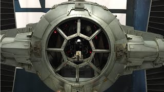 Hot Toys 1/6 scale Star Wars Tie Fighter early look review SDCC 07/10/15