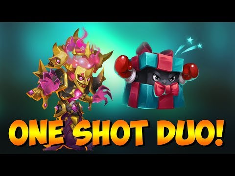 Bogeyman Punching Box ONESHOT Top Players Castle Clash
