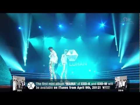 Kai, Sehun, Luhan - Dance - EXO SHOWCASE in Seoul - HD