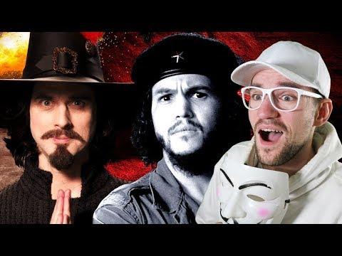 Guy Fawkes Vs Che Guevara. Epic Rap Battles Of History. | REACTION