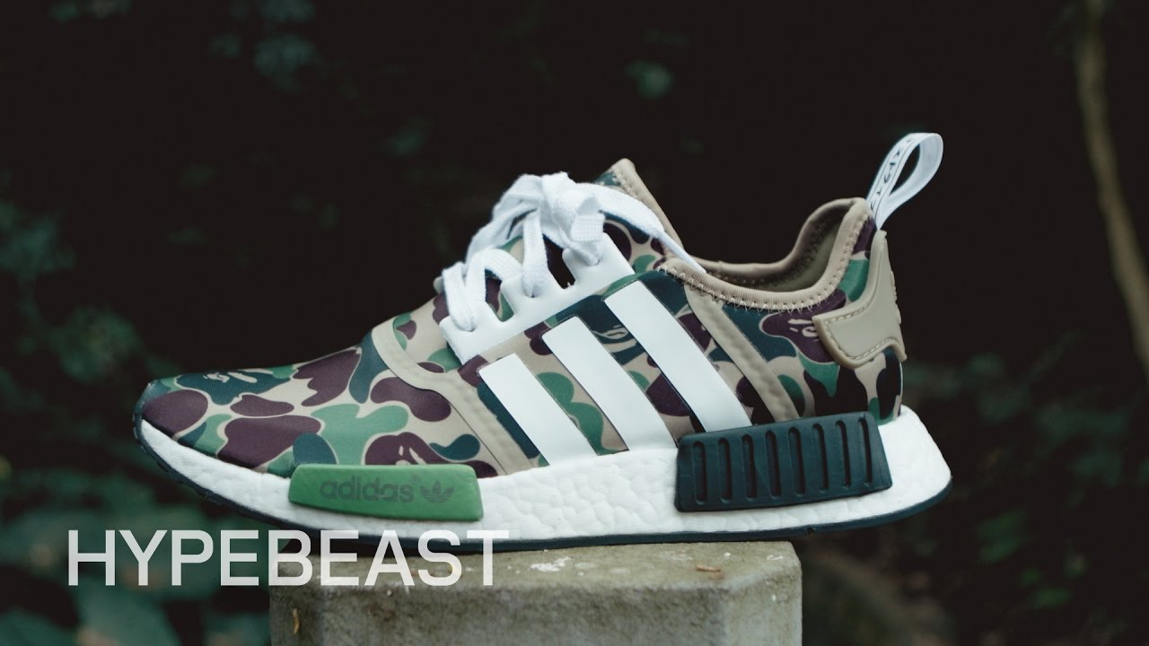 3720b68ffe46d A Closer Look at the BAPE x adidas Originals NMD - YouTube
