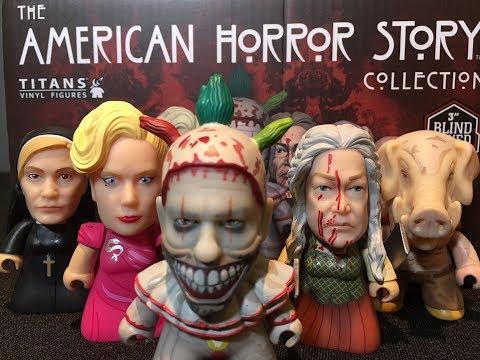 American Horror Story Titans Vinyl Full Case Unboxing