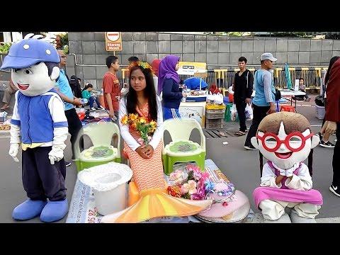 Ada boboiboy, mermaid dan upin ipin juga di cfd JAKARTA
