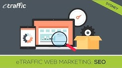 "SEO Sydney ""eTraffic Web Marketing"" Search Engine Optimisation Sydney"